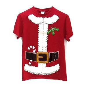 Santa Suit T-shirt EUC